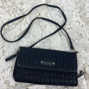 Nicole Miller Quilted Clutch Purse